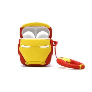Купить Силиконовый чехол oneLounge Silicone Case Iron Man для AirPods 2 | 1