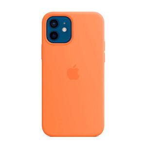 Купить Cиликоновый чехол oneLounge Silicone Case Kumquat для iPhone 12 mini OEM (без MagSafe)