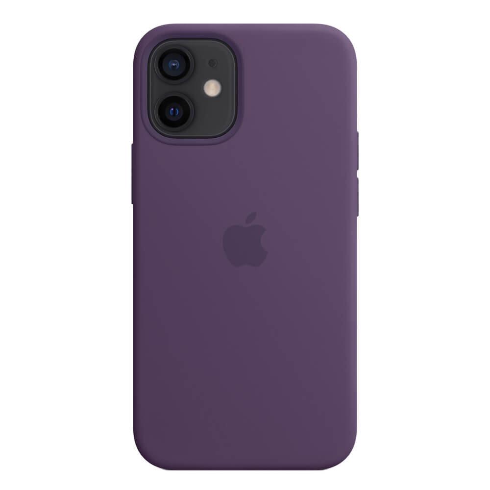 Силиконовый чехол iLoungeMax Silicone Case MagSafe Amethyst для iPhone 12 mini OEM (c поддержкой анимации)
