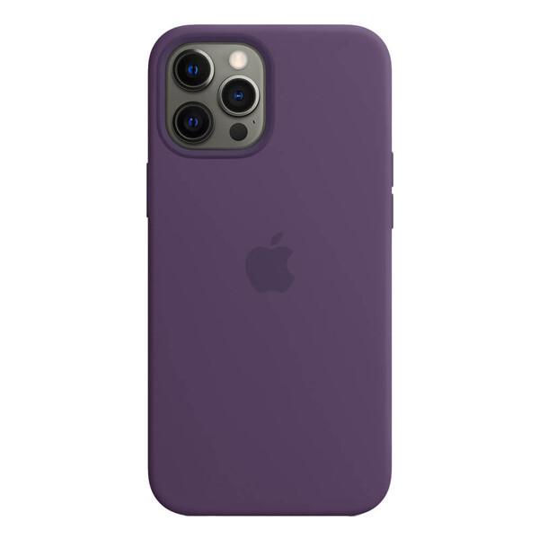 Силиконовый чехол iLoungeMax Silicone Case MagSafe Amethyst для iPhone 12 Pro Max OEM (с поддержкой анимации)