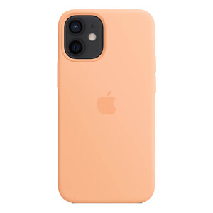 Купить Силиконовый чехол iLoungeMax Silicone Case MagSafe Cantaloupe для iPhone 12 | 12 Pro OEM (с поддержкой анимации)
