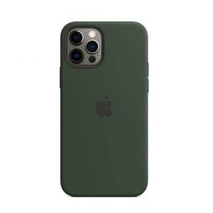 Купить Силиконовый чехол oneLounge Silicone Case MagSafe Cyprus Green для iPhone 12 Pro Max OEM (c поддержкой анимации)