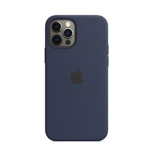 Купить Силиконовый чехол iLoungeMax Silicone Case MagSafe Deep Navy для iPhone 12 Pro Max OEM