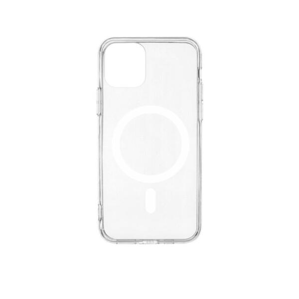 Прозрачный силиконовый чехол iLoungeMax Silicone Case MagSafe для iPhone 11