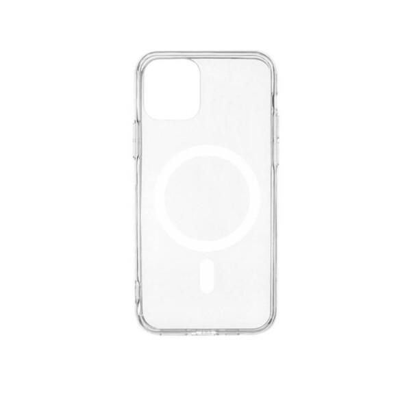 Прозрачный силиконовый чехол iLoungeMax Silicone Case MagSafe для iPhone 11 Pro