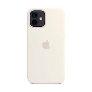 Купить Силиконовый чехол iLoungeMax Silicone Case MagSafe White для iPhone 12 mini OEM (c поддержкой анимации)