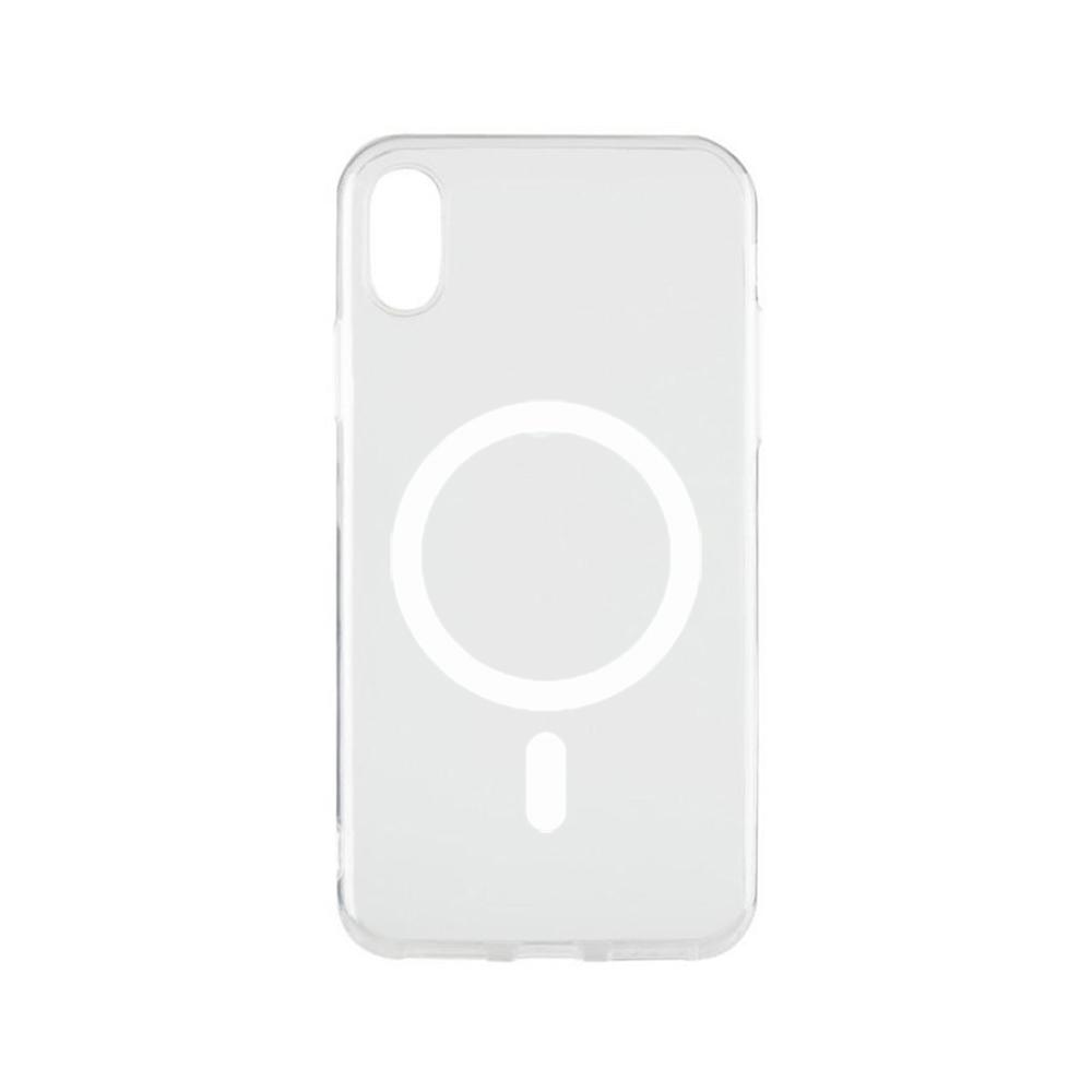 Купить Прозрачный силиконовый чехол iLoungeMax Silicone Case MagSafe для iPhone X   XS