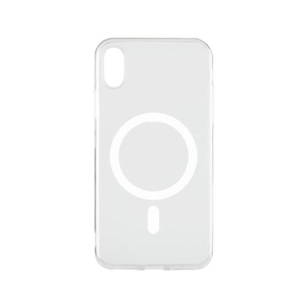 Прозрачный силиконовый чехол iLoungeMax Silicone Case MagSafe для iPhone X   XS