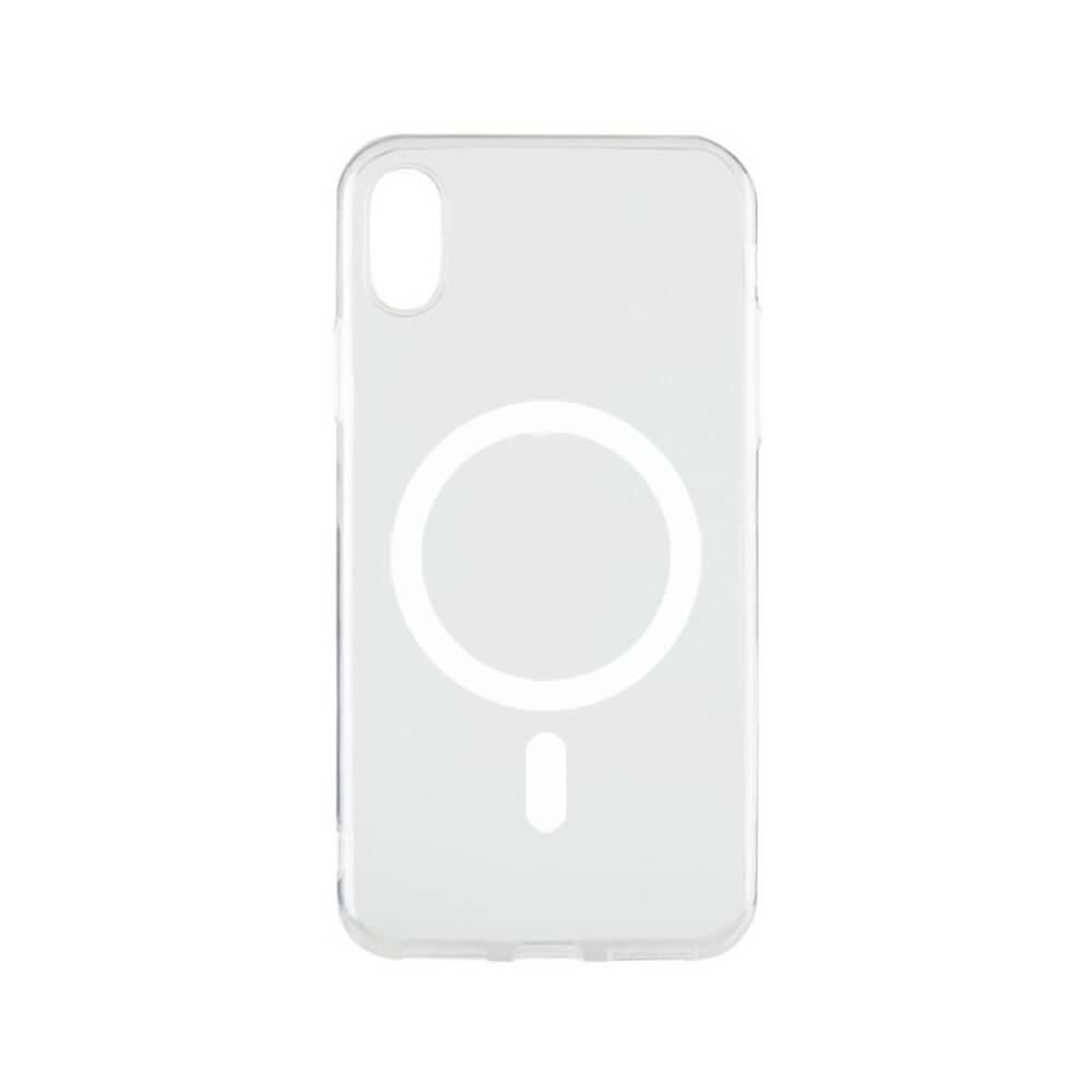 Купить Прозрачный силиконовый чехол oneLounge Silicone Case MagSafe для iPhone XR