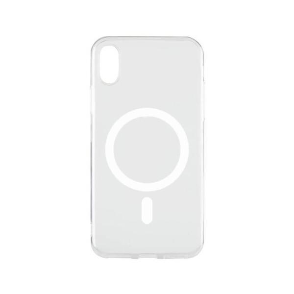 Прозрачный силиконовый чехол iLoungeMax Silicone Case MagSafe для iPhone XS Max