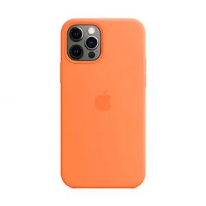 Купить Силиконовый чехол iLoungeMax Silicone Case MagSafe Kumquat для iPhone 12 Pro Max OEM (c поддержкой анимации)