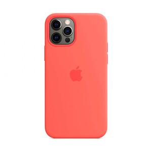 Купить Силиконовый чехол oneLounge Silicone Case MagSafe Pink Citrus для iPhone 12 Pro Max OEM (c поддержкой анимации)