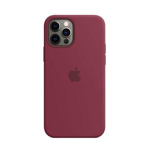 Купить Силиконовый чехол oneLounge Silicone Case MagSafe Plum для iPhone 12 Pro Max OEM (c поддержкой анимации)
