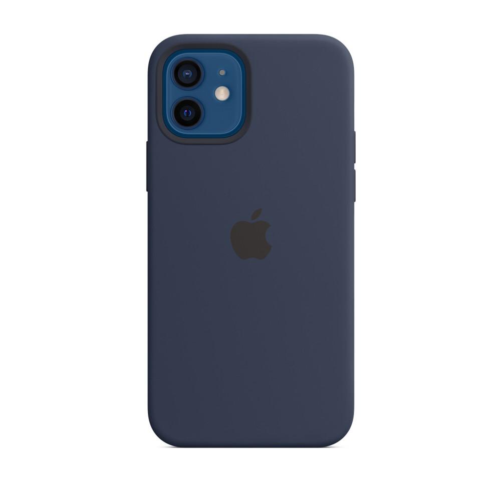 Силиконовый чехол iLoungeMax Silicone Case Midnight Blue для iPhone 12 mini OEM