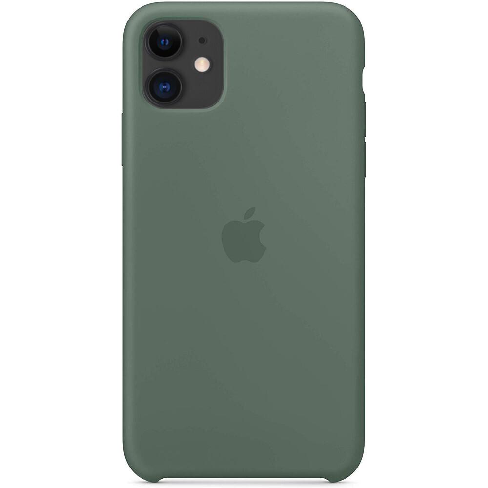Силиконовый чехол oneLounge Silicone Case Pine Green для iPhone 11 OEM