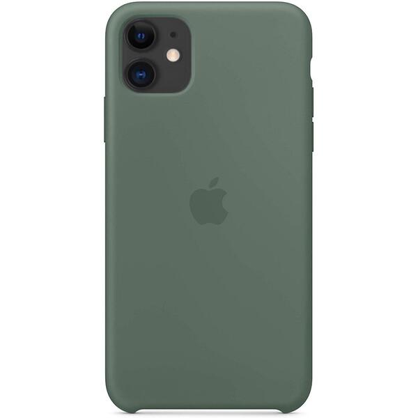 Силиконовый чехол iLoungeMax Silicone Case Pine Green для iPhone 11 OEM