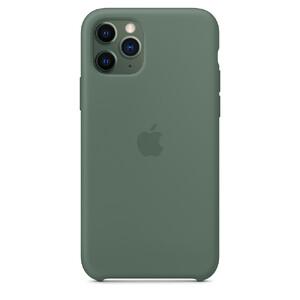 Купить Силиконовый чехол oneLounge Silicone Case Pine Green для iPhone 11 Pro Max OEM (MX012)