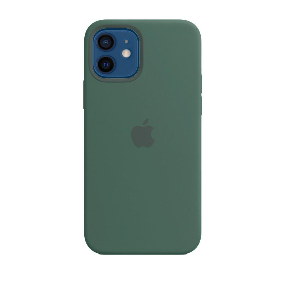 Купить Силиконовый чехол iLoungeMax Silicone Case Pine Green для iPhone 12 mini OEM