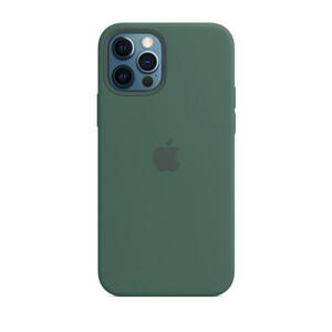 Купить Силиконовый чехол iLoungeMax Silicone Case Pine Green для iPhone 12 Pro Max OEM