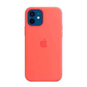Купить Силиконовый чехол iLoungeMax Silicone Case Pink Citrus для iPhone 12 | 12 Pro OEM (без MagSafe)