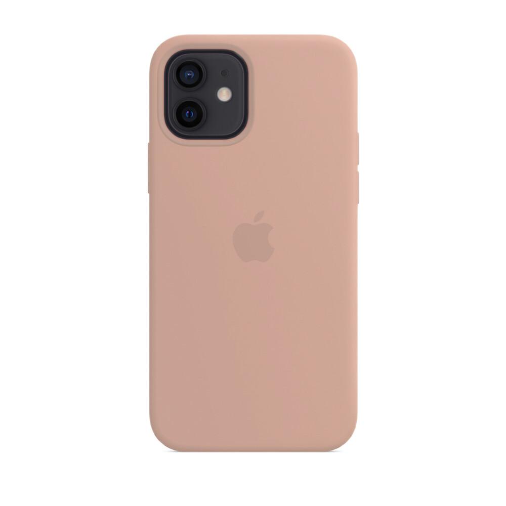 Силиконовый чехол iLoungeMax Silicone Case Pink Sand для iPhone 12 mini OEM