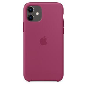Купить Силиконовый чехол oneLounge Silicone Case Pomegranate для iPhone 11 OEM