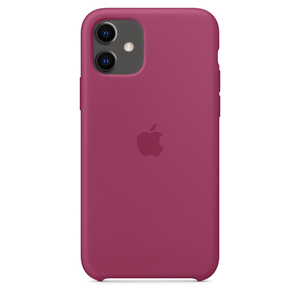 Силиконовый чехол iLoungeMax Silicone Case Pomegranate для iPhone 11 OEM