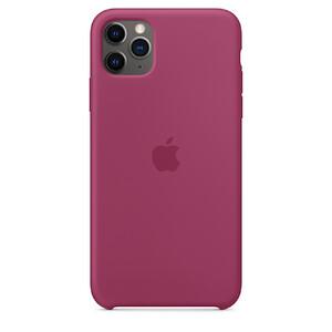 Купить Силиконовый чехол oneLounge Silicone Case Pomegranate для iPhone 11 Pro Max OEM (MXM82)