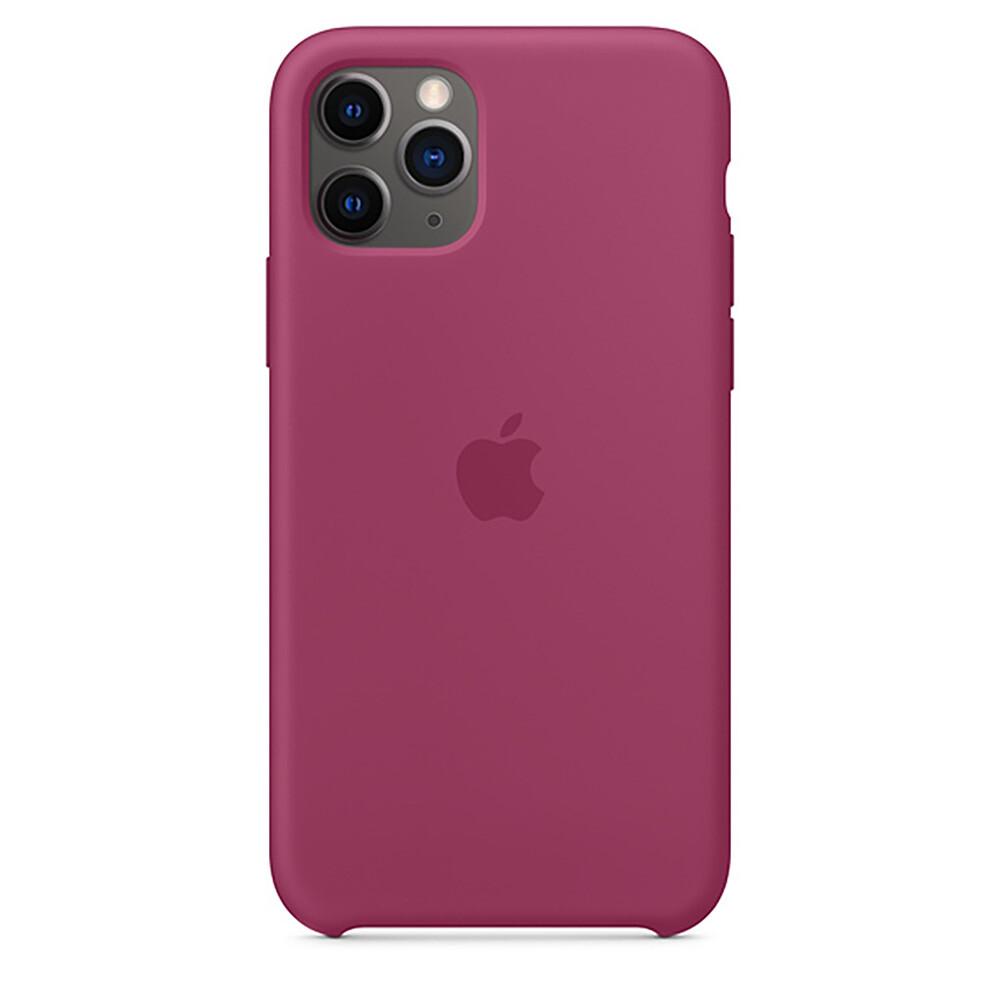 Силиконовый чехол oneLounge Silicone Case Pomegranate для iPhone 11 Pro OEM (MXM62)