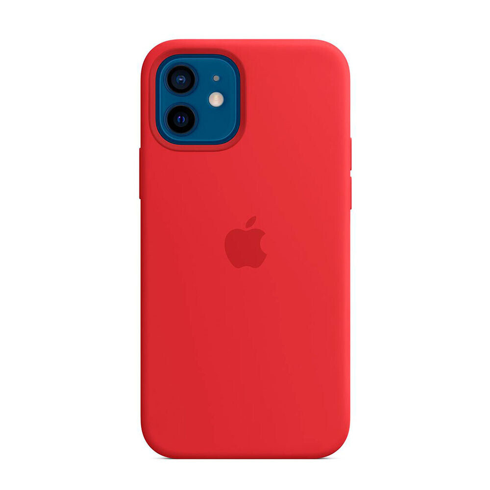 Cиликоновый чехол iLoungeMax Silicone Case (PRODUCT) Red для iPhone 12 mini OEM (без MagSafe)
