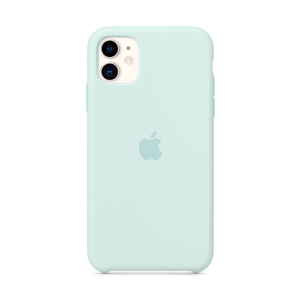 Силиконовый чехол iLoungeMax Silicone Case Seafoam для iPhone 11 OEM (MY182)