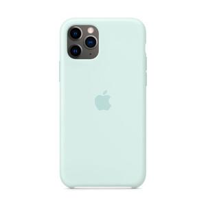 Купить Силиконовый чехол iLoungeMax Silicone Case Seafoam для iPhone 11 Pro OEM (MY152)