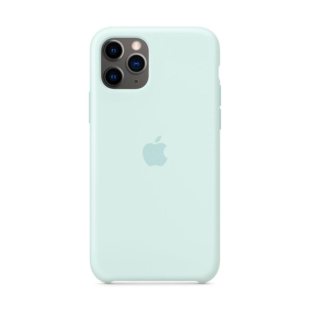 Купить Силиконовый чехол iLoungeMax Silicone Case Seafoam для iPhone 11 Pro Max OEM (MY102)