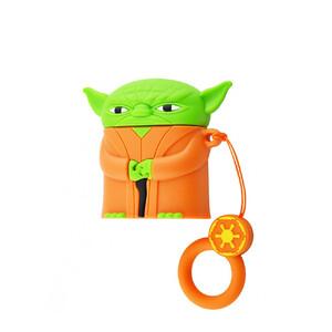 Купить Силиконовый чехол oneLounge Silicone Case Star Wars Yoda для AirPods 2 | 1