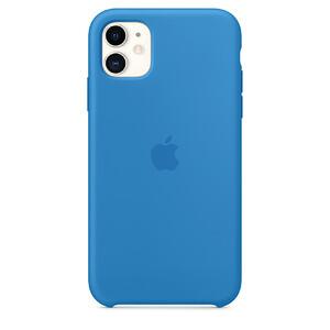 Купить Силиконовый чехол oneLounge Silicone Case Surf Blue для iPhone 11 OEM (MXYY2)
