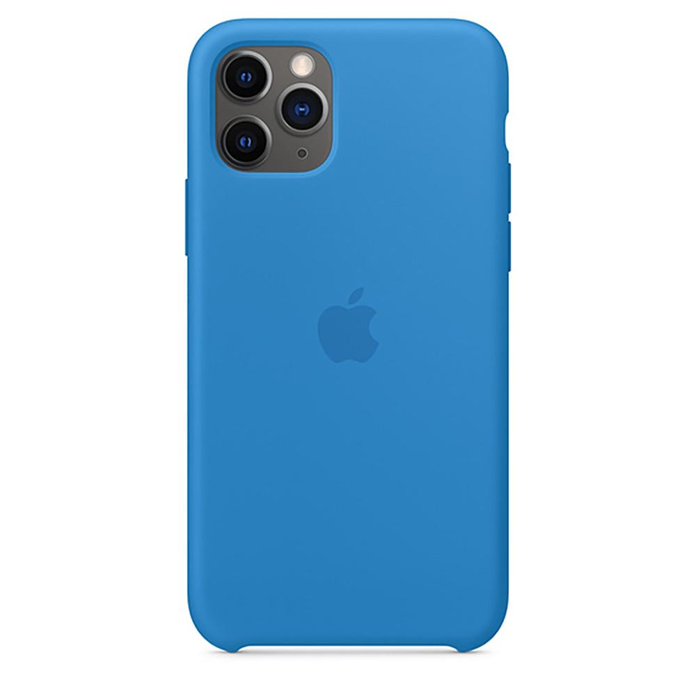 Купить Силиконовый чехол oneLounge Silicone Case Surf Blue для iPhone 11 Pro OEM (MY1F2)