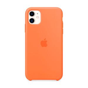 Купить Силиконовый чехол iLoungeMax Silicone Case Vitamin C для iPhone 11 OEM (MY192)