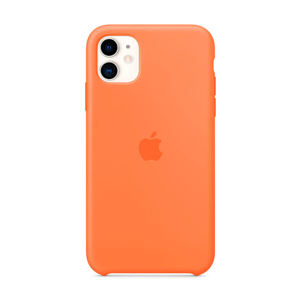 Силиконовый чехол iLoungeMax Silicone Case Vitamin C для iPhone 11 OEM (MY192)