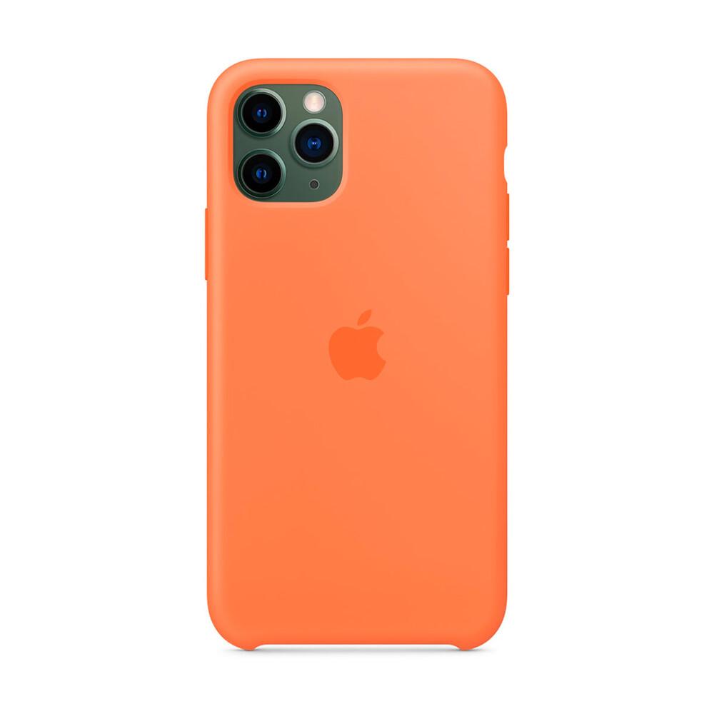 Купить Силиконовый чехол iLoungeMax Silicone Case Vitamin C для iPhone 11 Pro Max OEM (MY112)