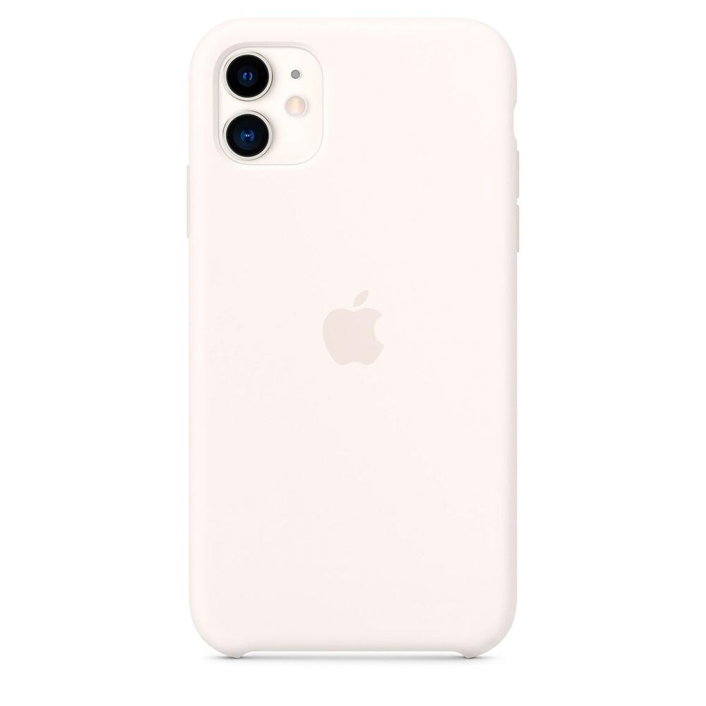 Купить Силиконовый чехол oneLounge Silicone Case White для iPhone 11 OEM (MWVX2)