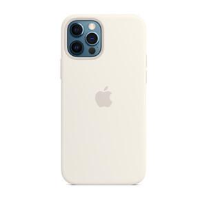 Купить Силиконовый чехол iLoungeMax Silicone Case White для iPhone 12 Pro Max OEM