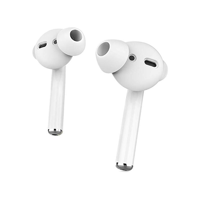 Купить Силиконовые накладки iLoungeMax Silicone Cover White для AirPods 1 | 2