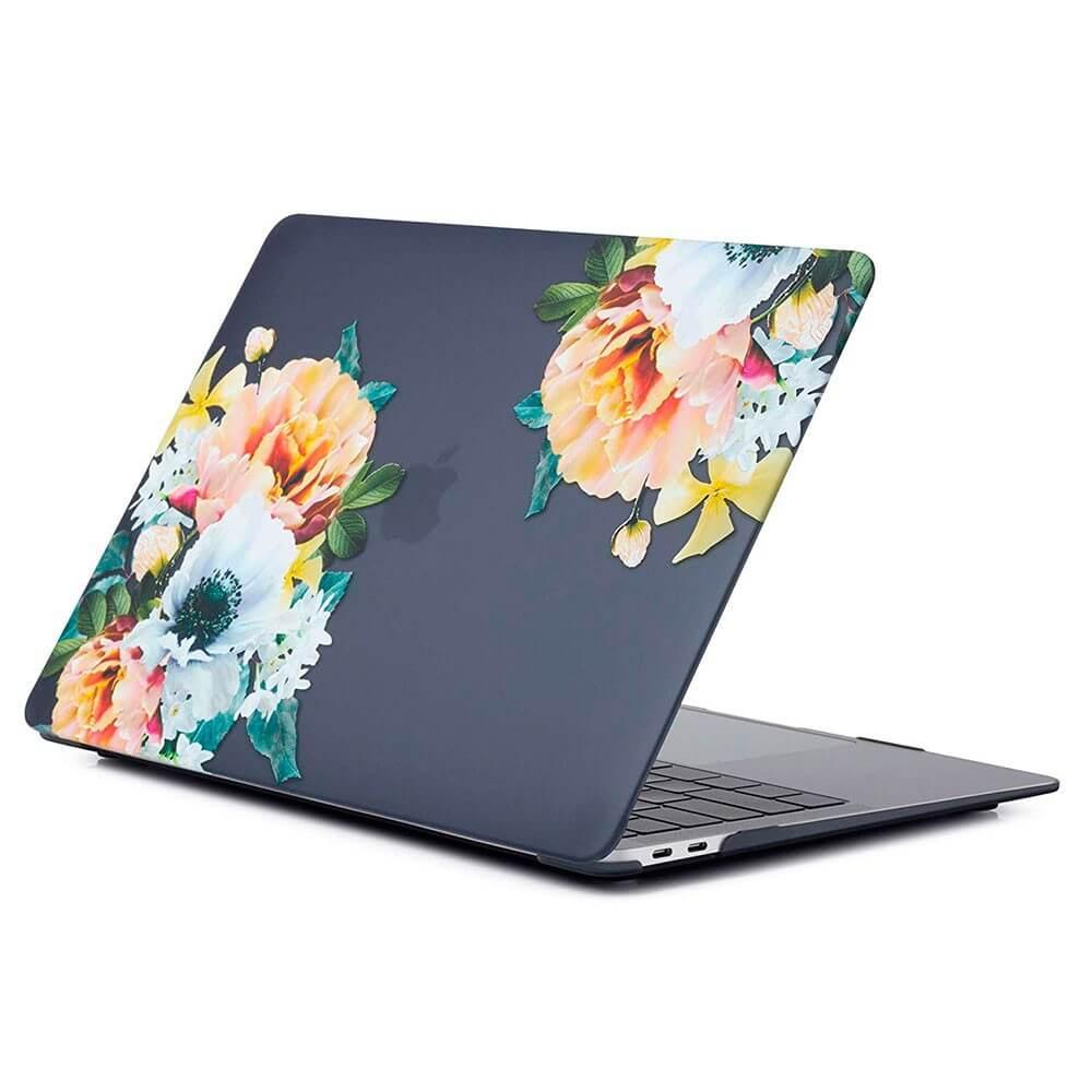 """Купить Пластиковый чехол oneLounge Soft Touch Big Flowers для MacBook Pro 16"""" (2019)"""