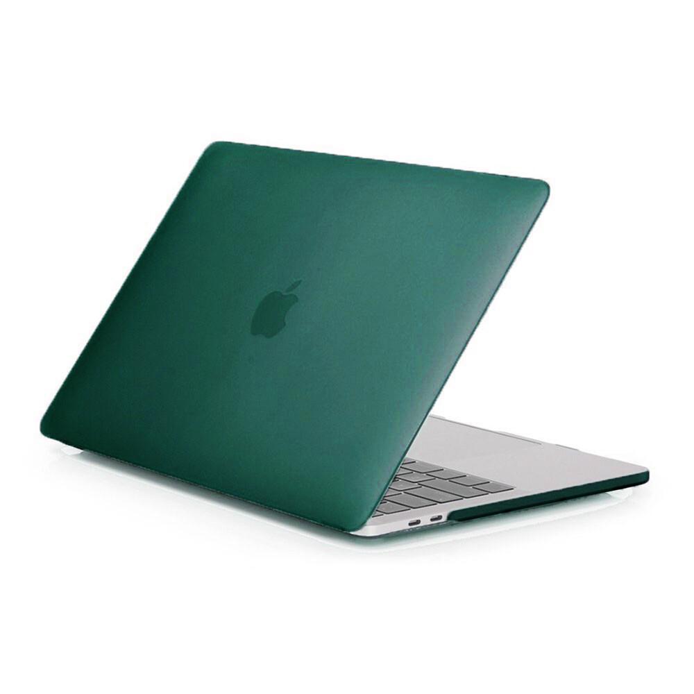 "Пластиковый чехол oneLounge Soft Touch Dark Green для MacBook Pro 13"" (2016-2019)"