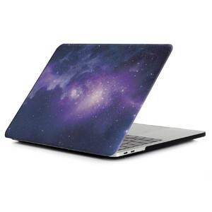 "Купить Пластиковый чехол iLoungeMax Soft Touch Matte Purple Galaxy для MacBook Pro 16"" (2019)"