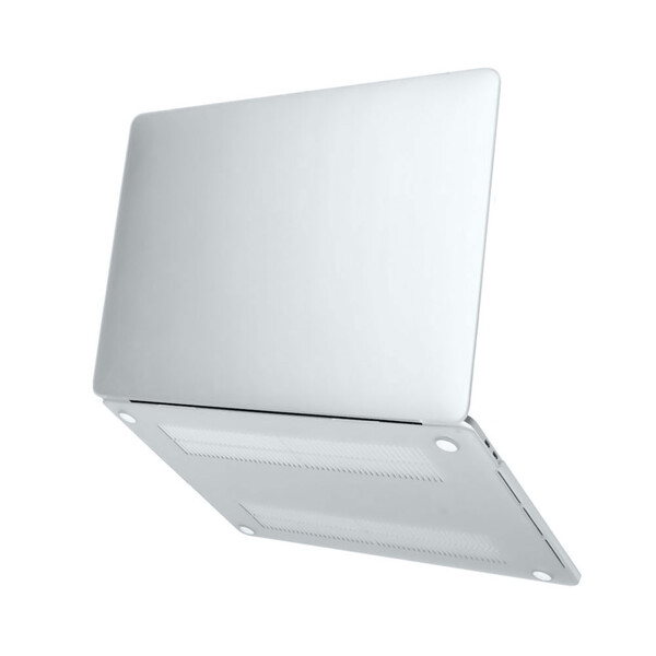 "Пластиковый чехол iLoungeMax Soft Touch Metallic Silver для MacBook Air 13"" (M1   2020   2019   2018)"