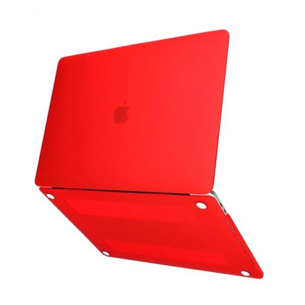 "Пластиковый чехол iLoungeMax Soft Touch Red для MacBook Pro 16"" (2019)"