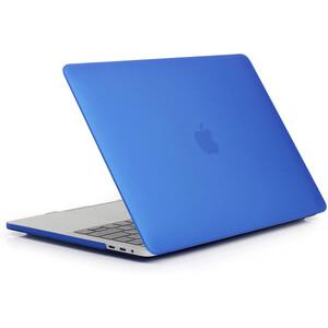 """Купить Пластиковый чехол oneLounge Soft Touch Matte Blue для MacBook Pro 13"""" (2020)"""