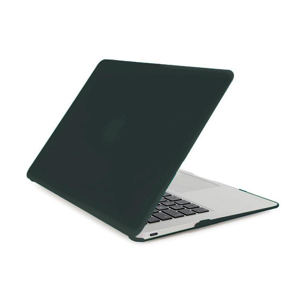 "Пластиковая накладка oneLounge Soft Touch Matte Dark Green для MacBook Air 13"" (2019   2018)"