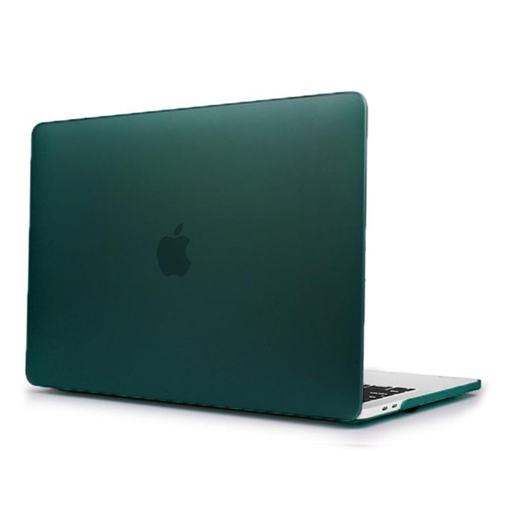 """Купить Пластиковый чехол iLoungeMax Soft Touch Matte Dark Green для MacBook Pro 15"""" (2016-2019)"""